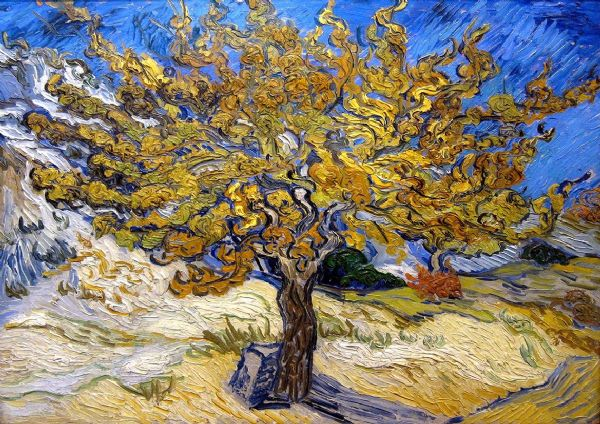 Van Gogh, Vincent: Mulberry Tree. Fine Art Print/Poster. Sizes: A4/A3/A2/A1 (002682)